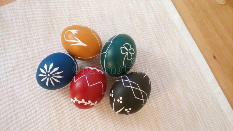 Uova di Pasqua, Slovacchia, repubblica Ceca fotografia stock libera da diritti