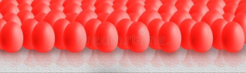 Uova di Pasqua Variopinte royalty illustrazione gratis