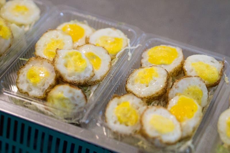 Uova di quaglie fritte immagini stock libere da diritti