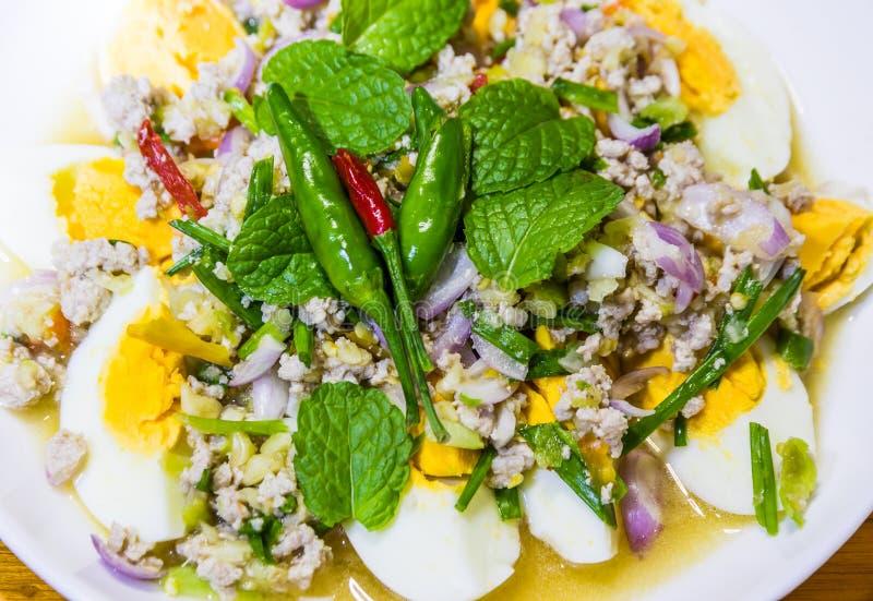 Uova salate fotografie stock