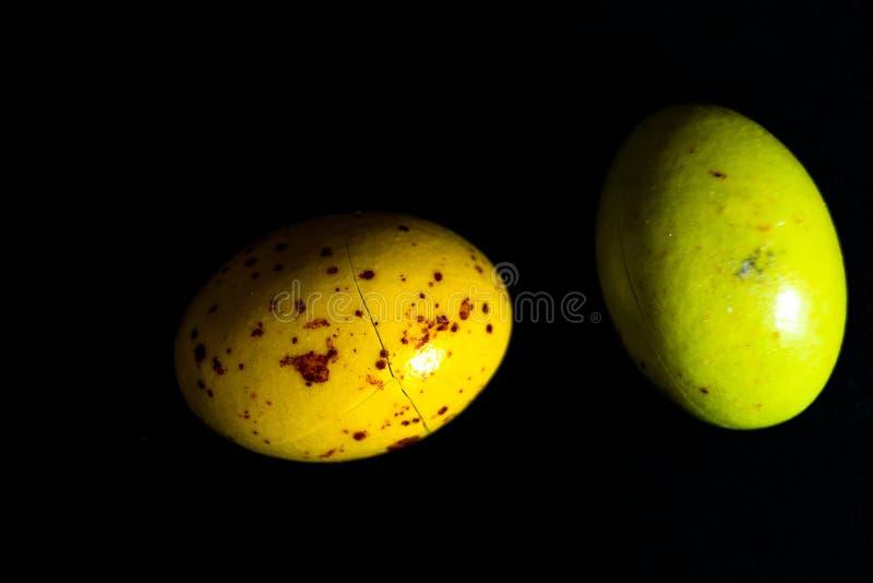Uova variopinte dell'estere immagini stock