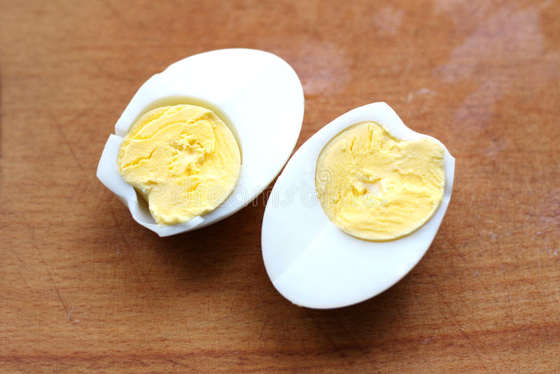Uovo cucinato fotografie stock libere da diritti