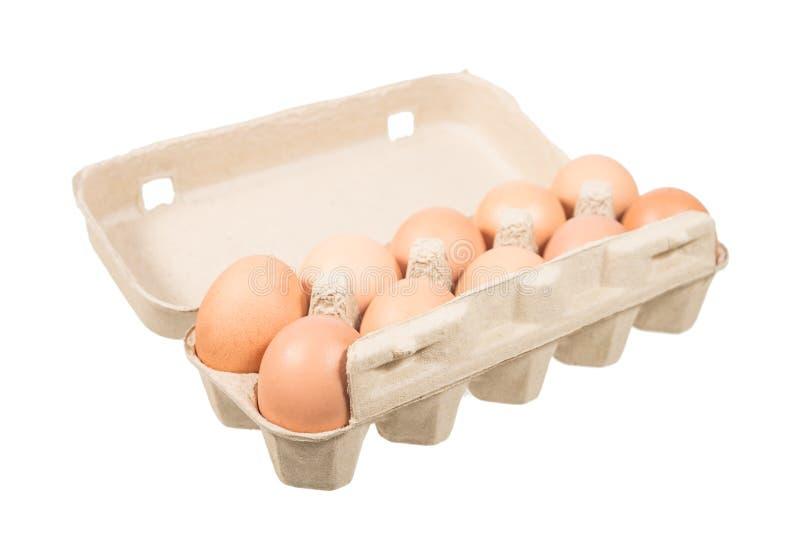 Download Uovo del pollo fotografia stock. Immagine di carta, casella - 56884012