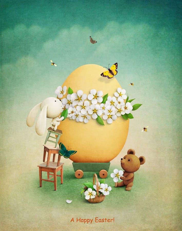 Uovo di Pasqua royalty illustrazione gratis