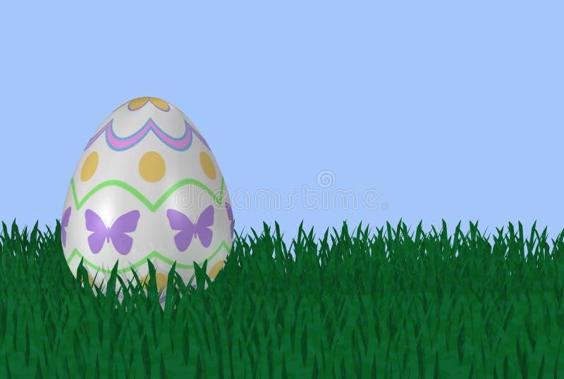 Download Uovo Di Pasqua Operato In Erba Illustrazione di Stock - Illustrazione di generato, airy: 3879170