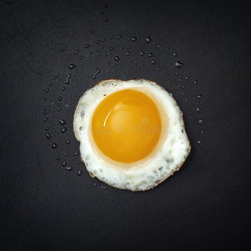 Uovo di quaglie fritto immagine stock libera da diritti