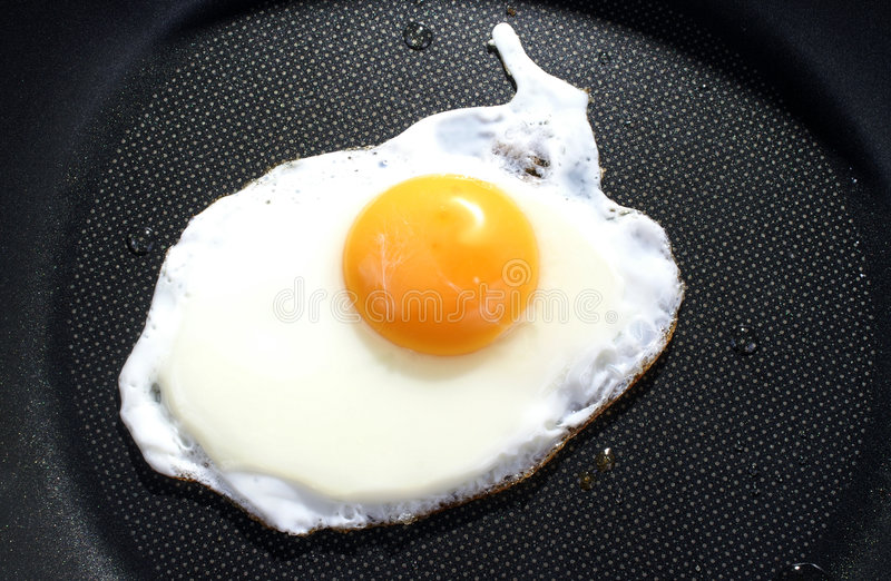 Download Uovo fritto immagine stock. Immagine di alimento, proteina - 3141475