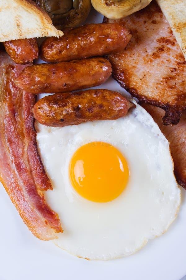 Uovo fritto per la prima colazione immagini stock libere da diritti