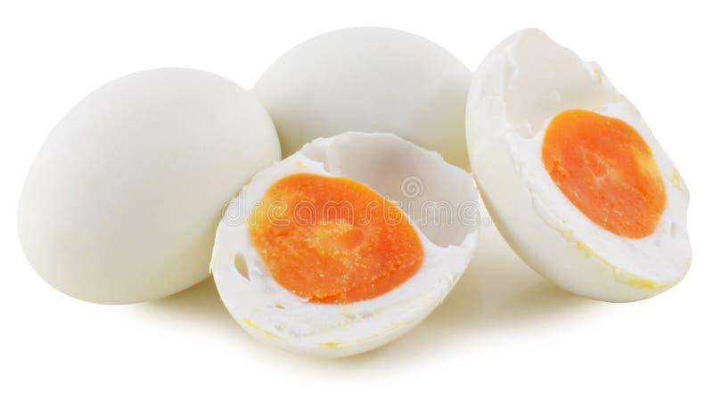 Uovo salato dell'anatra fotografia stock