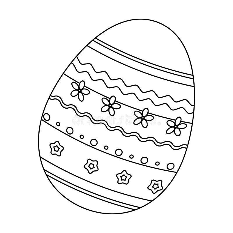 Uovo tinto dei modelli per pasqua singola icona di pasqua - Modello di uovo stampabile gratuito ...