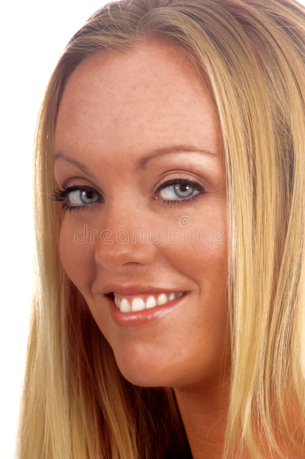 Up Close Blond stock photography