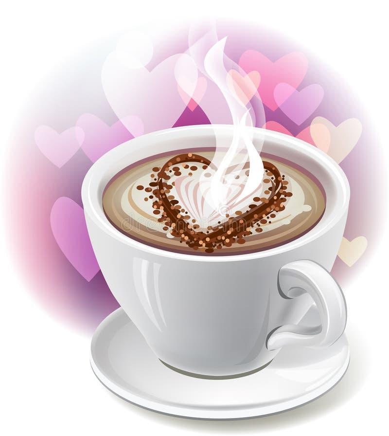 Download Сup of coffee stock vector. Image of tasty, black, dark - 22644687