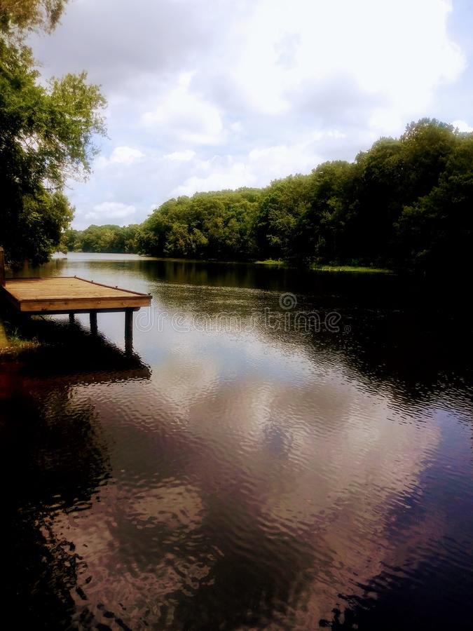Up The Creek. The Withlacoochee River Inverness Florida stock photos