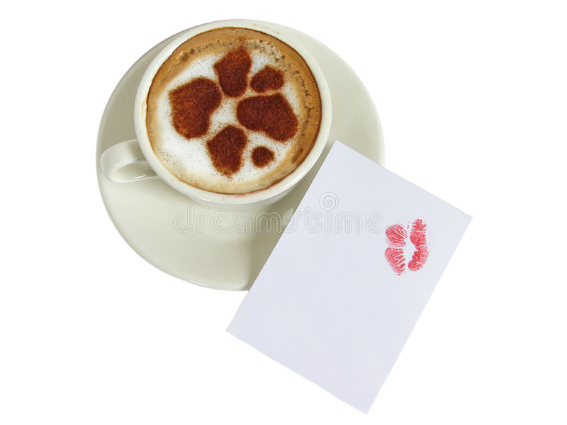 ?up do café-cappuccino fotos de stock