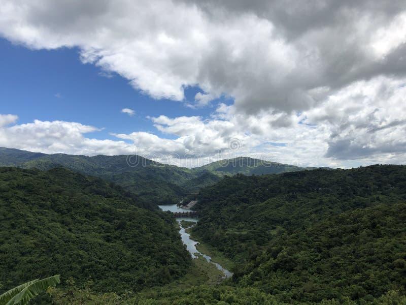 Over looking Ipo Dam at Norzagaray, Bulacan royalty free stock photos