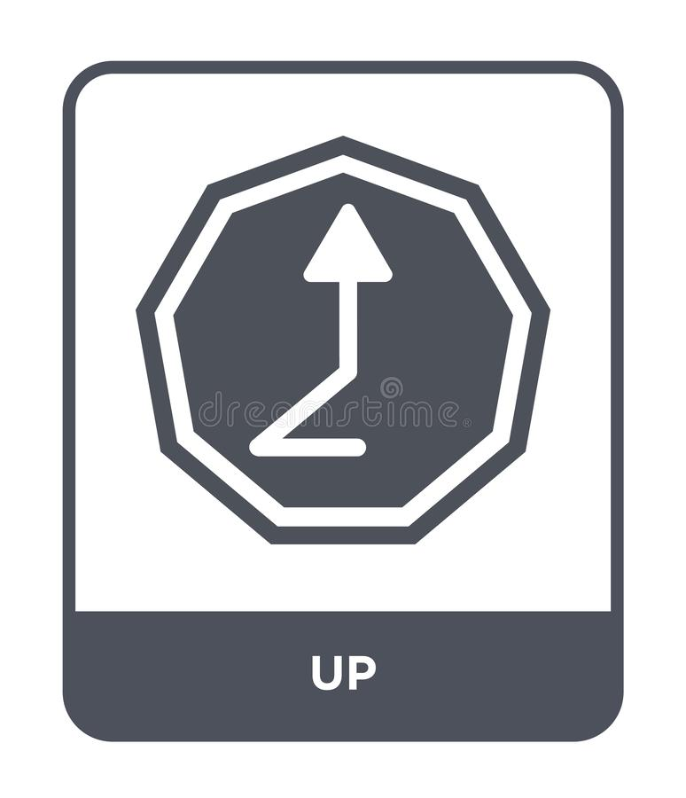 up icon in trendy design style. up icon isolated on white background. up vector icon simple and modern flat symbol for web site, stock illustration