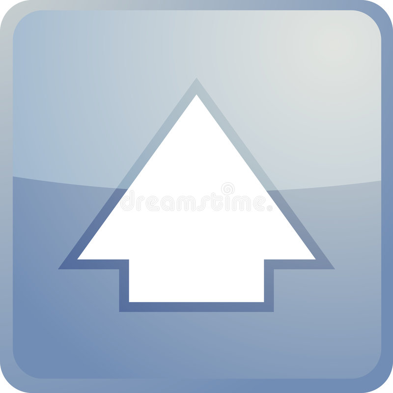 Download Up navigation icon stock vector. Image of button, browser - 7140281