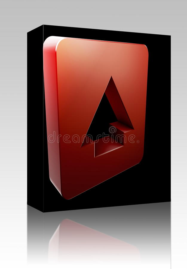 Download Up Navigation Icon Box Package Stock Illustration - Illustration of icon, container: 11449850