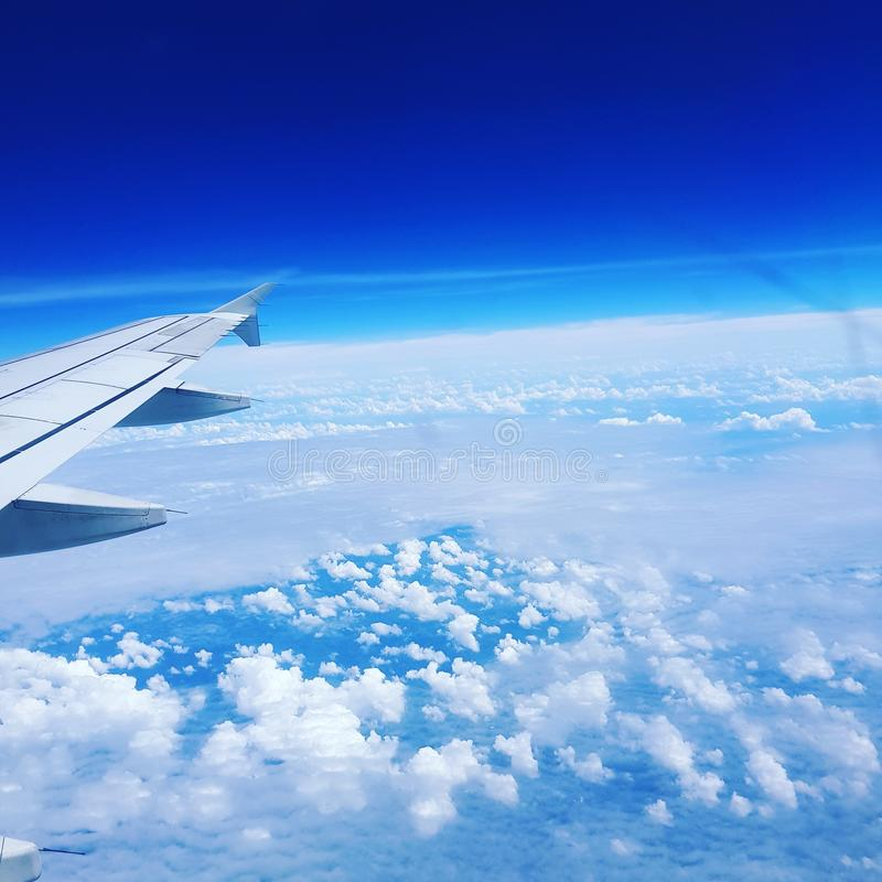 Up on sky royalty free stock photography