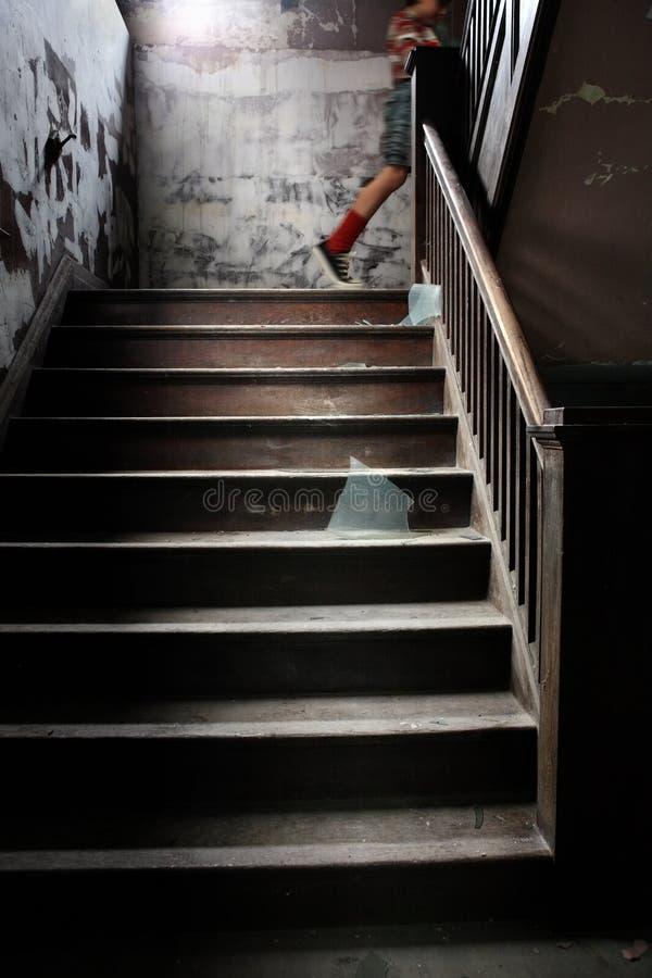Up Stairs stock photo