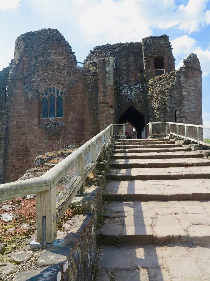 Free Up To The Castle Royalty Free Stock Photos - 130073738