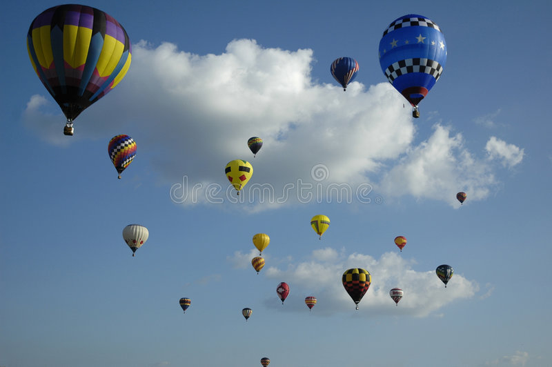Up Up and away stock photo