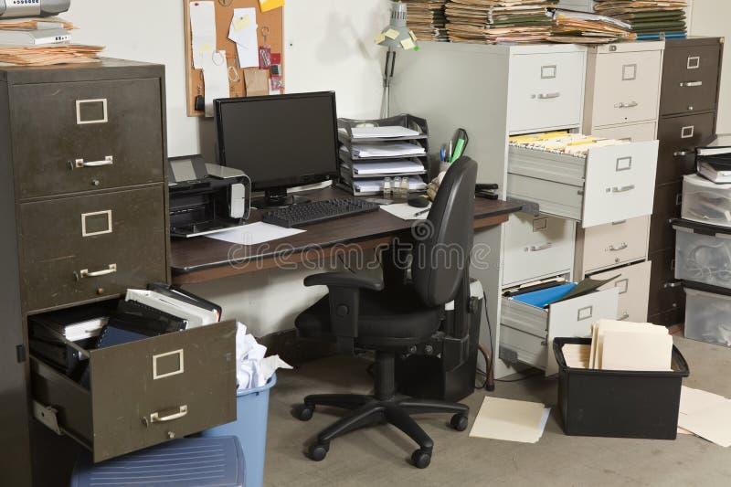 upaćkany biurowy bardzo fotografia stock