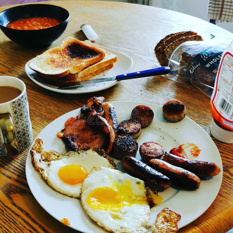 Upaćkany Irlandzki śniadanie obrazy stock
