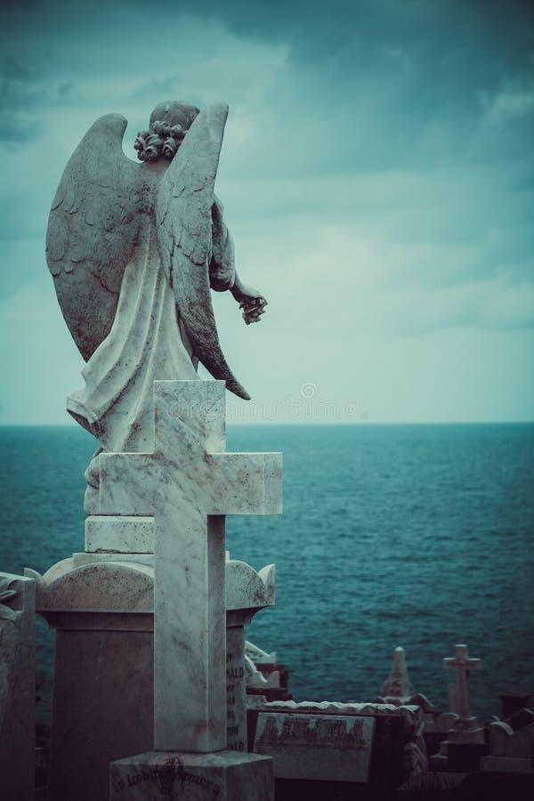 upadły anioł zdjęcie stock