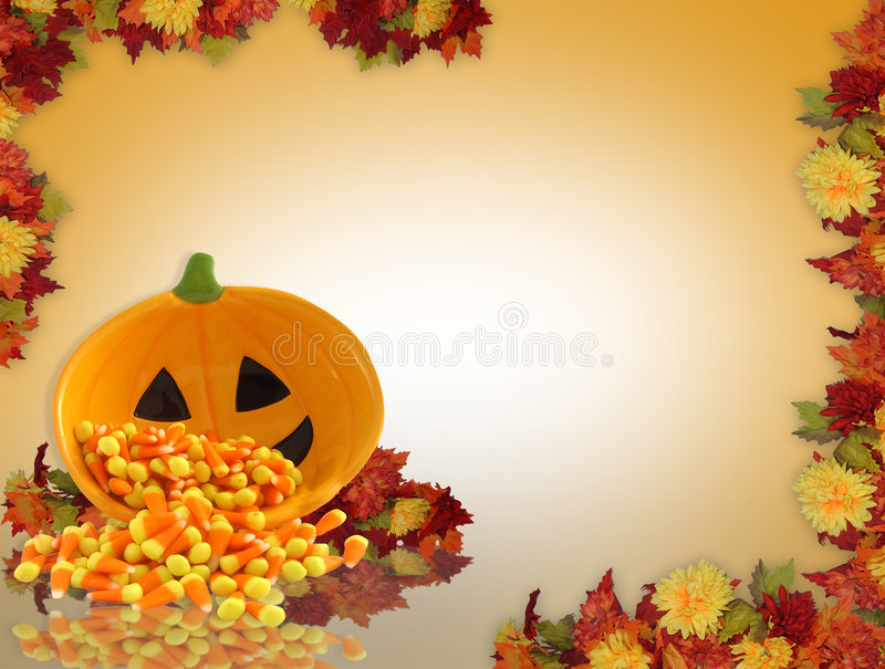 upadek tła Halloween. royalty ilustracja