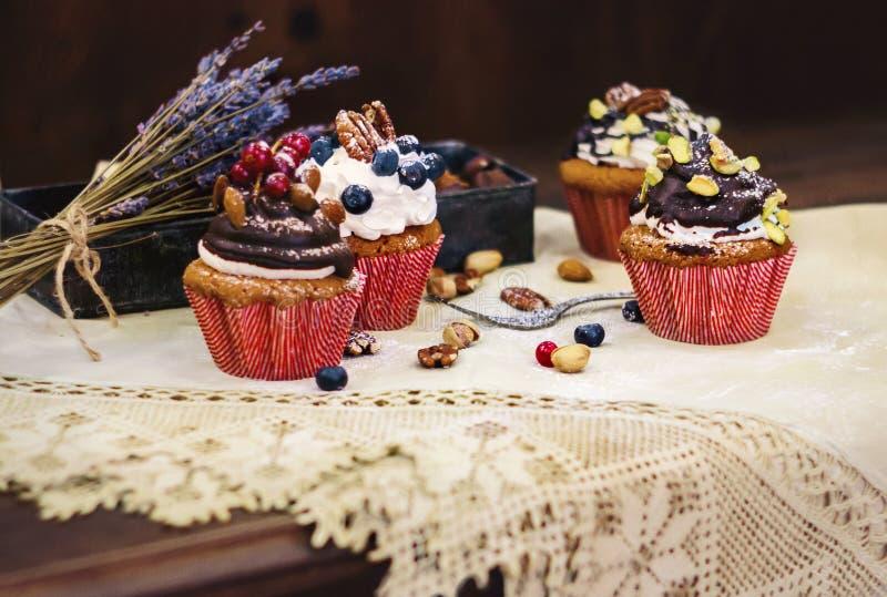 Upcakes del ¡ di Ð immagine stock