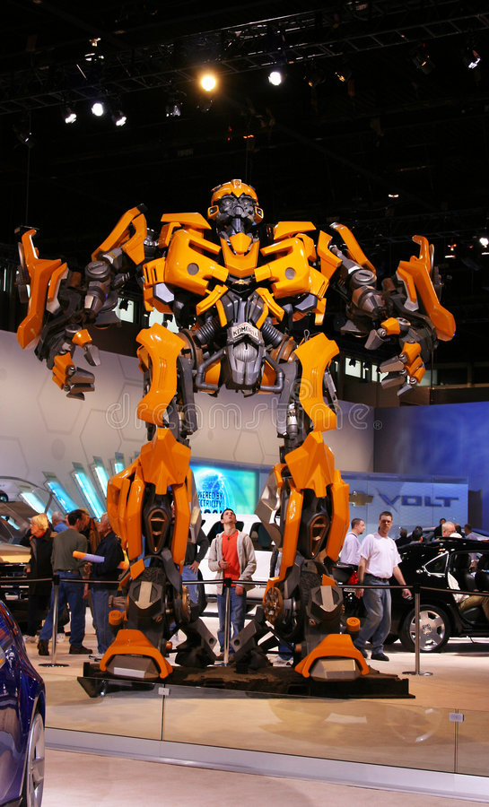 The upcoming Transformers 2 movie:BUMBLEBEE, stock photography