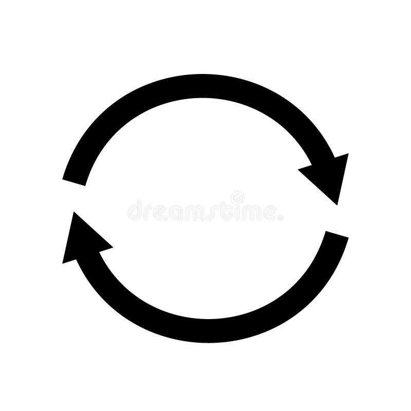 Update icon vector. Vector design abstract illustration.  stock illustration
