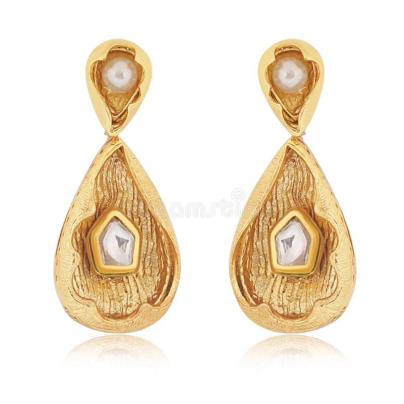 gold previous earrings designer supplier manufacturer