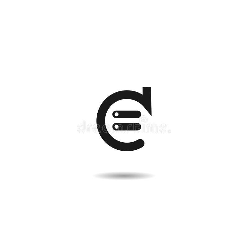 Updatepictogram vector vlak symbool op witte achtergrond EPS10 vector illustratie