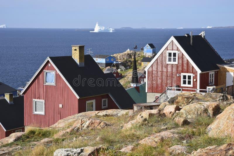 Upernavik, Groenland royalty-vrije stock fotografie