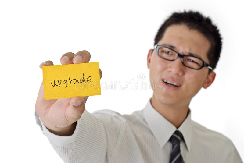 Upgrade Royalty Free Stock Photography