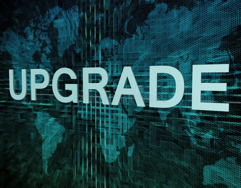 upgrade illustration libre de droits