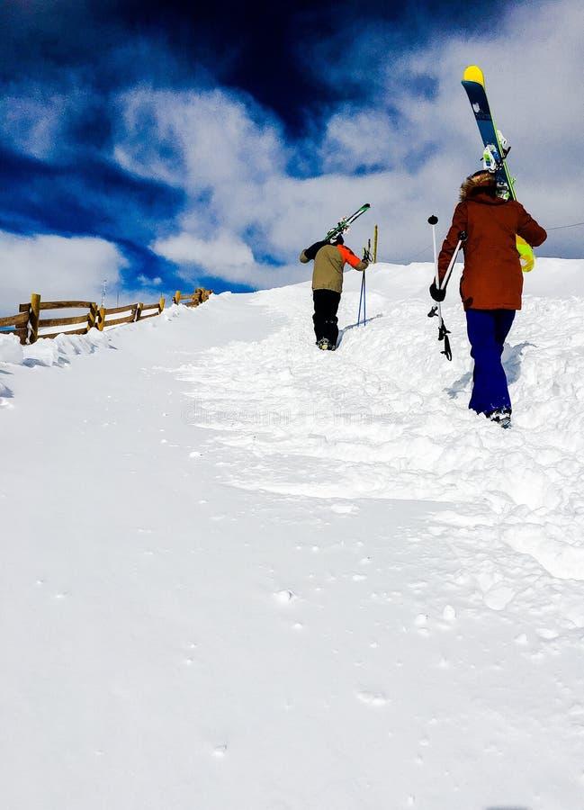 uphill photographie stock