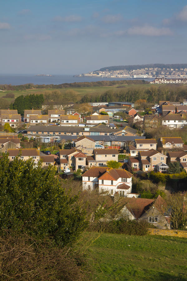 Uphill And Weston-super-Mare Somerset England Stock Images