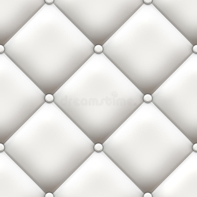 Upholstery branco ilustração do vetor