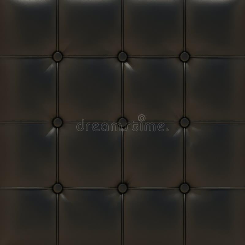 Upholstery de couro ilustração royalty free