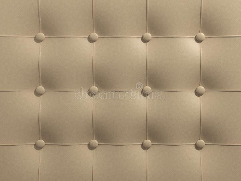 Download Couro bege ilustração stock. Ilustração de furniture - 29843849