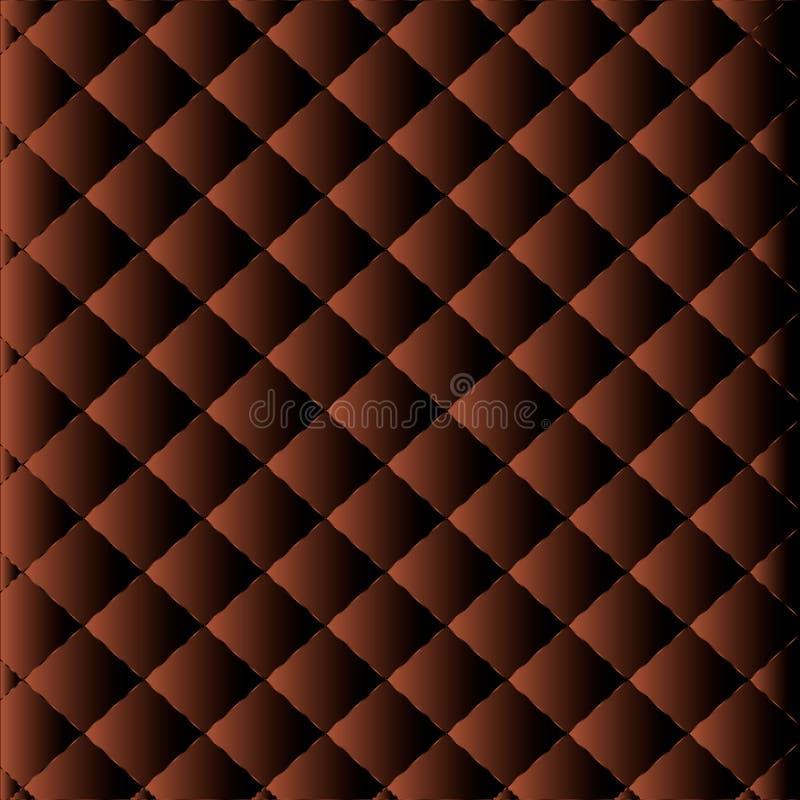 upholstery Estofamento abstrato Pode ser usado no projeto da tampa, fundo do Web site Estofamento de couro decorativo ilustração do vetor