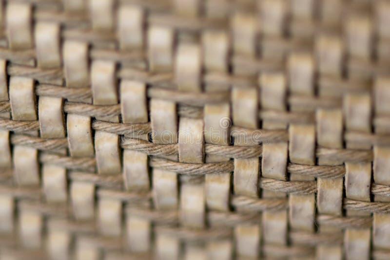 upholstery Slut upp tygtextur royaltyfria foton