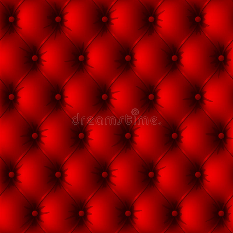 Upholstery velho vermelho. Sem emenda. Vetor. ilustração royalty free