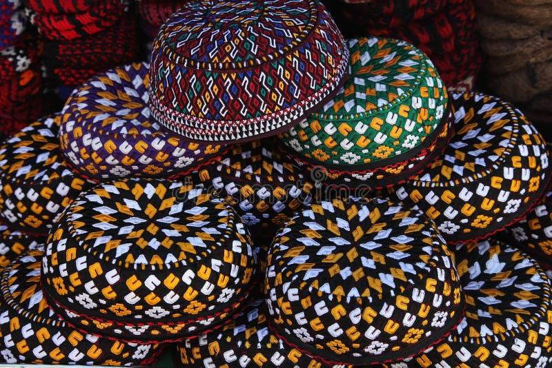 Upiększone myce Turkmenistan Ashkhabad zdjęcia stock