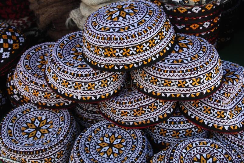 Upiększone myce Turkmenistan Ashkhabad obraz stock