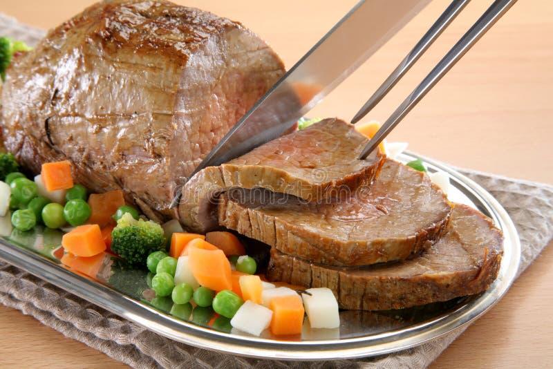 upiekłam wołowiny zdjęcie royalty free