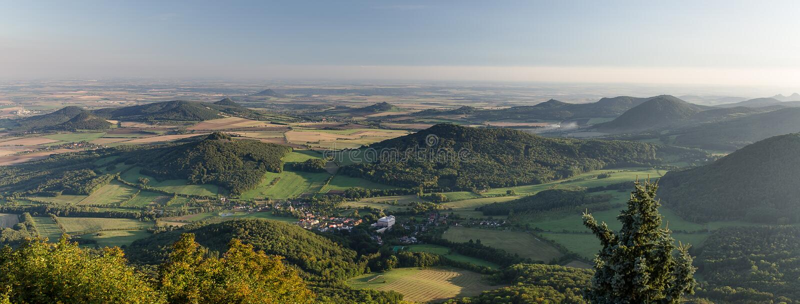 Uplands boêmios centrais, República Checa imagens de stock royalty free